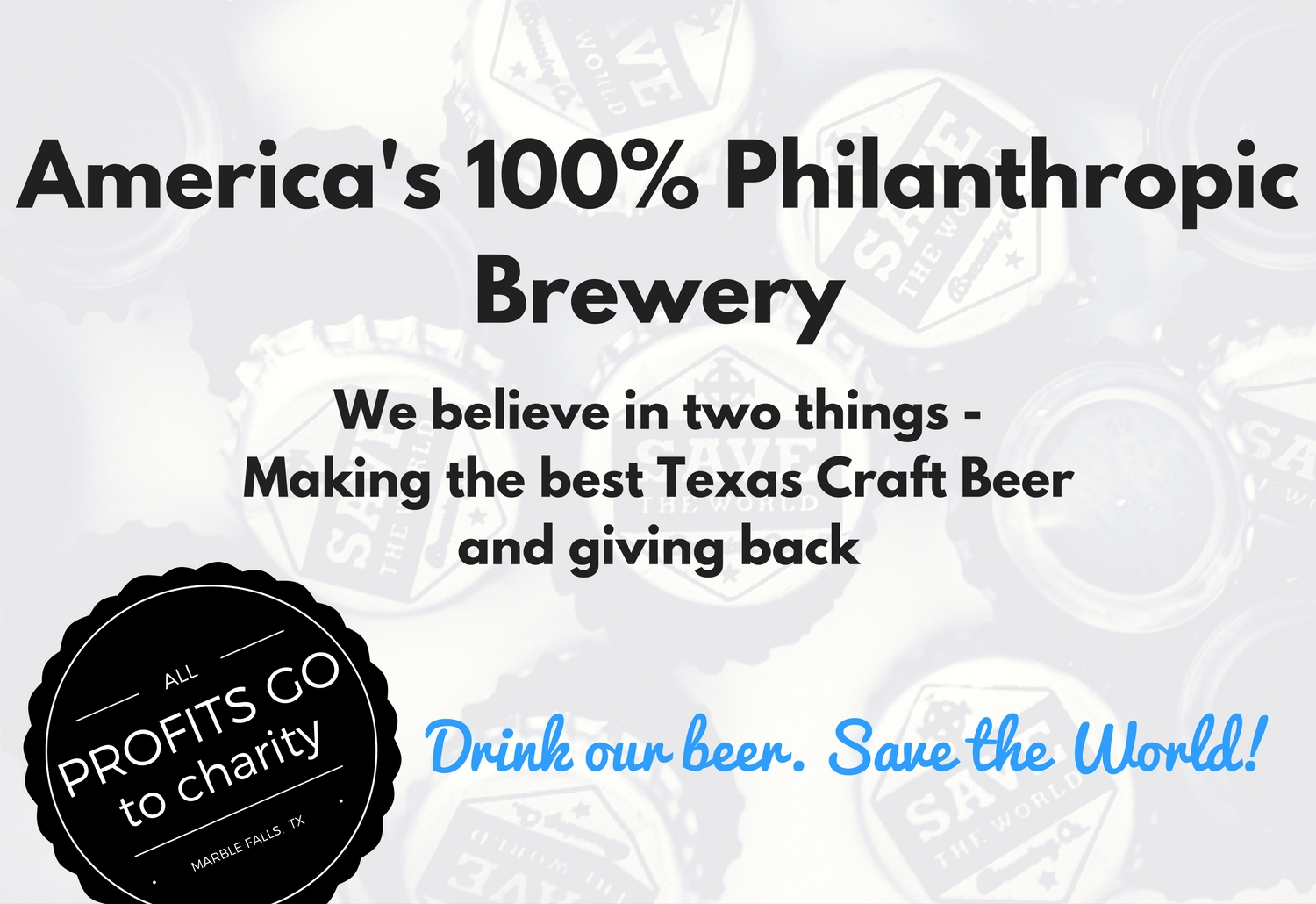 d19049cad1e Save The World Brewing Co – Marble Falls Tx Brewery